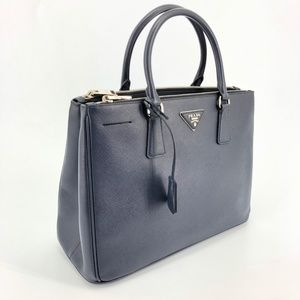 58221a7507826e ... spain prada saffiano lux double zip tote baltico cd923 3aee3